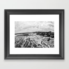 Calm V Framed Art Print