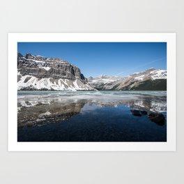 Bow Lake Alberta | Canada Landscape Art Print