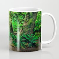 giants Mugs featuring Mossy Giants by JMcCool
