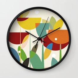 mid century Wall Clock