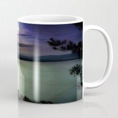 Blue Coastal Sunset Mug