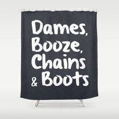 Dames Shower Curtain