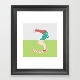 Pantless Project / FARTER Framed Art Print