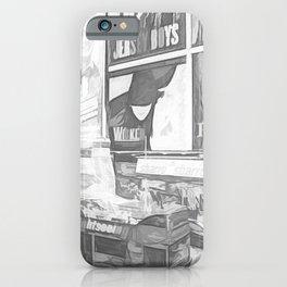 Times Square II (digital sketch) iPhone Case