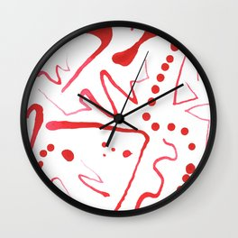 Jazzfingers Wall Clock