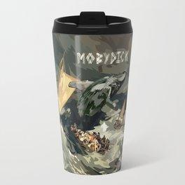 Fisherman Vs Whale Moby dick Digital art painting iPhone 4 4s 5 5c 6, pillow case, mugs and tshirt Travel Mug