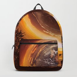 A WORLD OF PEACE Backpack