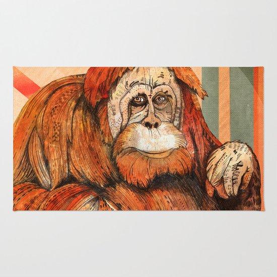 Mr. Orangutan Rug