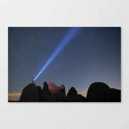 All Begins With A Thought Canvas Print