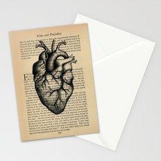 Pride & Prejudice, Chapter XXXV: Anatomical Heart Stationery Cards