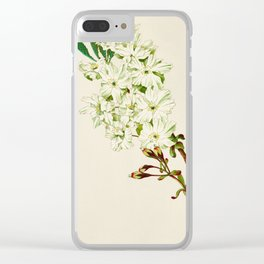 Gyoi-ko or Robe Yellow Cherry Blossoms Clear iPhone Case
