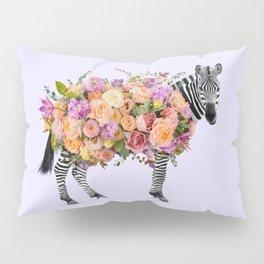 FLORAL ZEBRA Pillow Sham