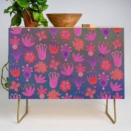 Moon-flowers - Full Moon Credenza