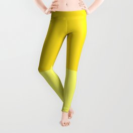 Banana Custard Leggings