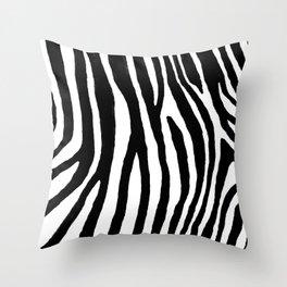 Zebra Stripes Pattern Throw Pillow