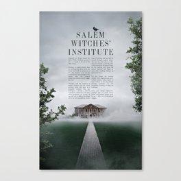 Wizarding Schools Around the World: Salem Canvas Print