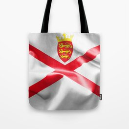Jersey Flag Tote Bag