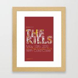 The Kills Framed Art Print
