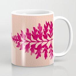 Pink Fern Coffee Mug