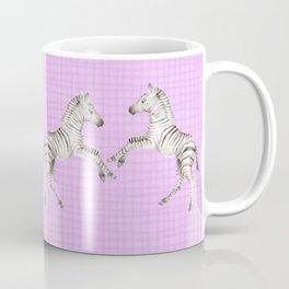 Zebras Watercolor Foals Coffee Mug