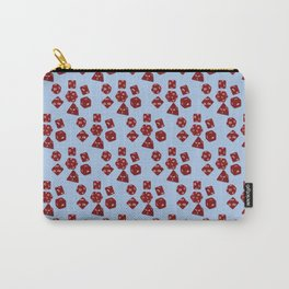 Dice Everywhere - Garnet Red Carry-All Pouch