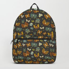 Love Bugs on Gray Backpack