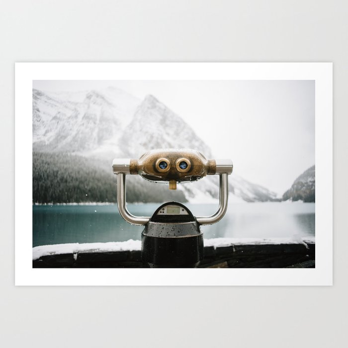 Lake Louise #landscape #society6 Art Print