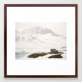 July in Norway Framed Art Print