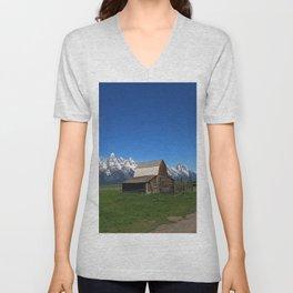 Historic Moulton Barn Unisex V-Neck
