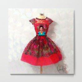 O'h So Frida  Metal Print