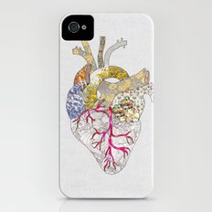 my heart is real iPhone (4, 4s) Slim Case