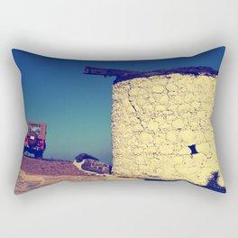 windmill and the jeep in yalıkavak Rectangular Pillow