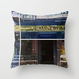 Lavandaria Throw Pillow