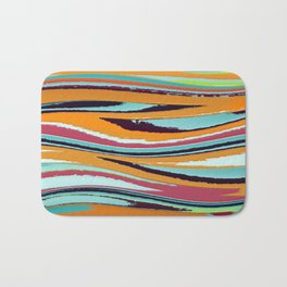 Abstract Composition 467 Bath Mat