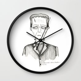 Frank-Einstein Wall Clock