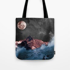 space in sea Tote Bag