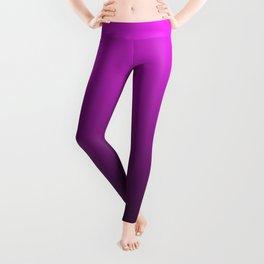 Deep Pink to Black Gradient Leggings