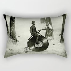 Music Man in the Forest, by Eric Fan and Viviana González Rectangular Pillow