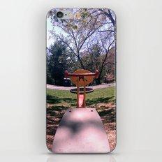 Teeter iPhone & iPod Skin