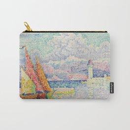 "Paul Signac ""Le Musior (Port d'Antibes)"" Carry-All Pouch"