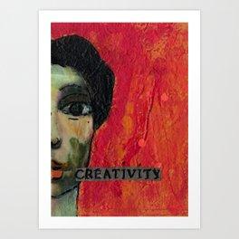 Creativity Art Print