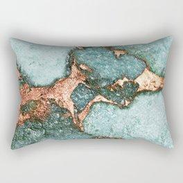 GEMSTONE & GOLD NEW MINT Rectangular Pillow