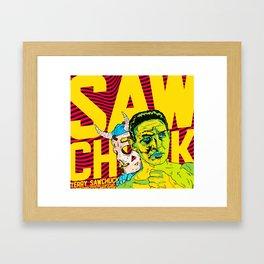 SAWCHUCK Framed Art Print