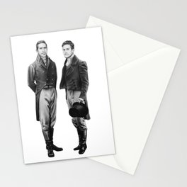 Earl and Ebbs (sketch) Stationery Cards