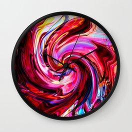 Melting Candy Wall Clock