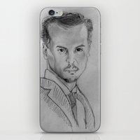 moriarty iPhone & iPod Skins featuring Jim Moriarty by Eponime