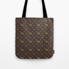Louis Weim Luxury Dog Attire Tote Bag