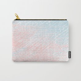 pink pastel and blue pastel Carry-All Pouch