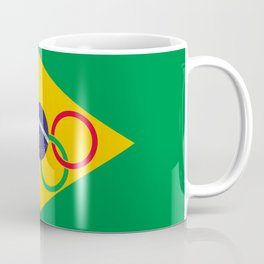 Brazil Olympics Coffee Mug