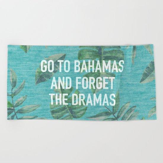Go to Bahamas Beach Towel